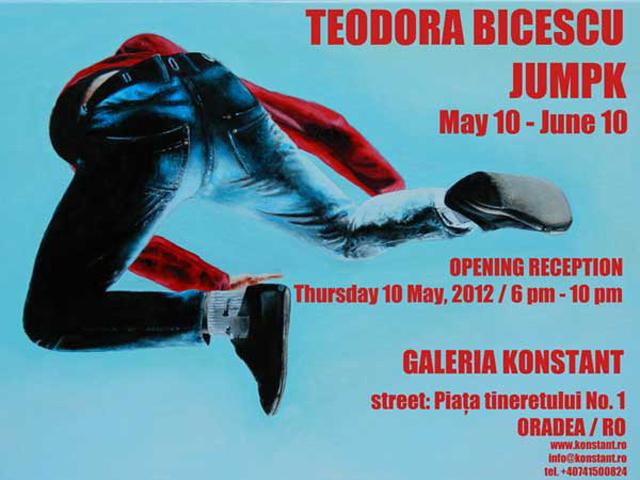 """Teodora Bicescu """"JUMPK"""" @ Galeria Konstant, Oradea"""