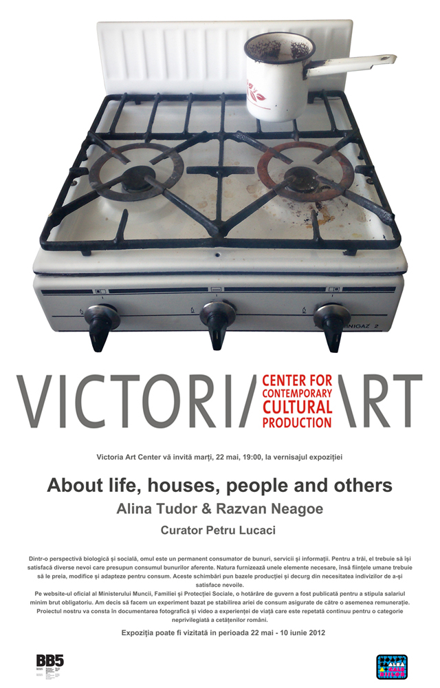 "Alina Tudor & Răzvan Neagoe, ""About life, houses, people and others…"" @ Victoria Art Center"
