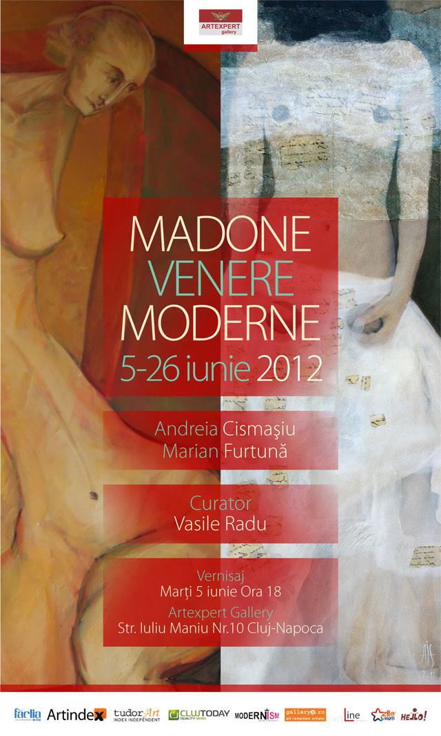 """Andreia CISMAŞIU, Marian FURTUNĂ """"Madone și Venere moderne"""" @ ARTEXPERT GALLERY, Cluj-Napoca"""
