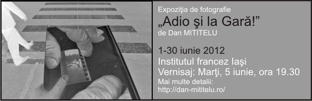 Dan Mititelu – adio și la gară!