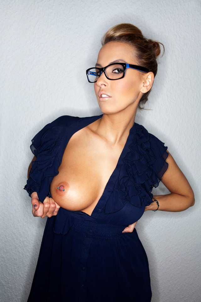 Blue Nipple Girl