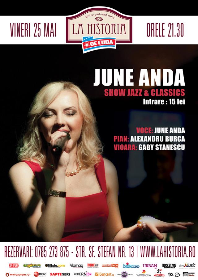 Show jazz & classics, marca June Anda