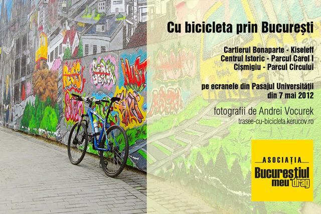 Cu bicicleta prin București – expoziție de fotografie