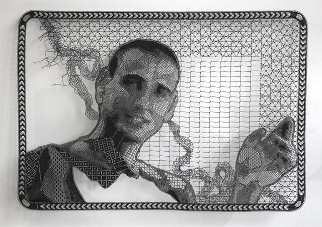 Lace Portrait by Pierre Fouché