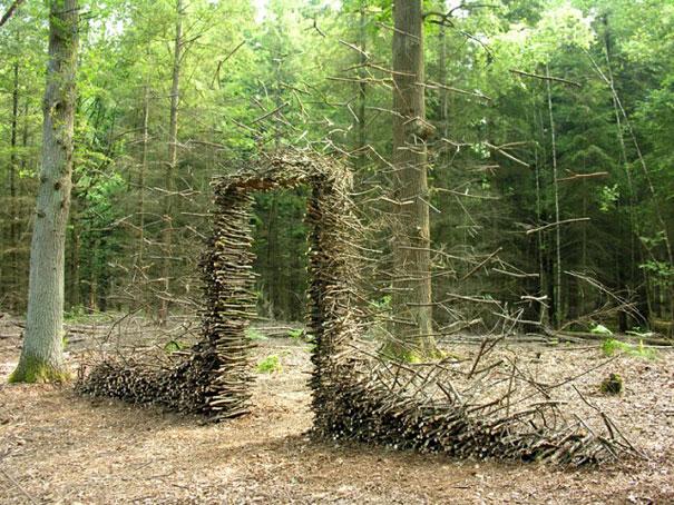 Surreal Land Art by Cornelia Konrads