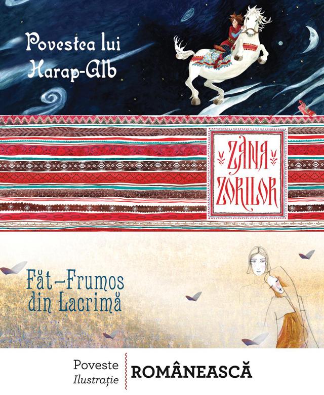 """Ilustraţii care spun poveşti, în expoziţia """"Pasărea măiastră"""" propusă de Editura Vellant"""