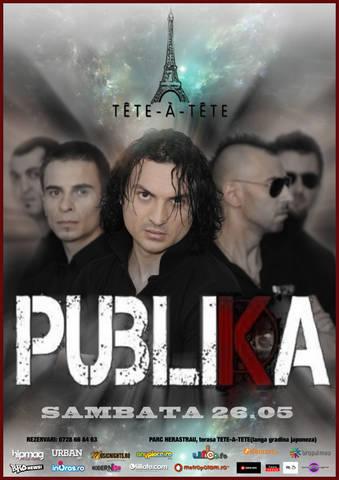 Publika@Tete-a-Tete Cafenea în București