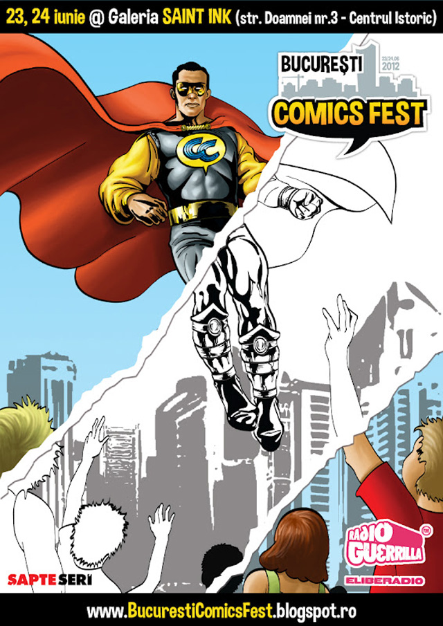 Bucuresti ComicsFest @ Galeria Saint Ink