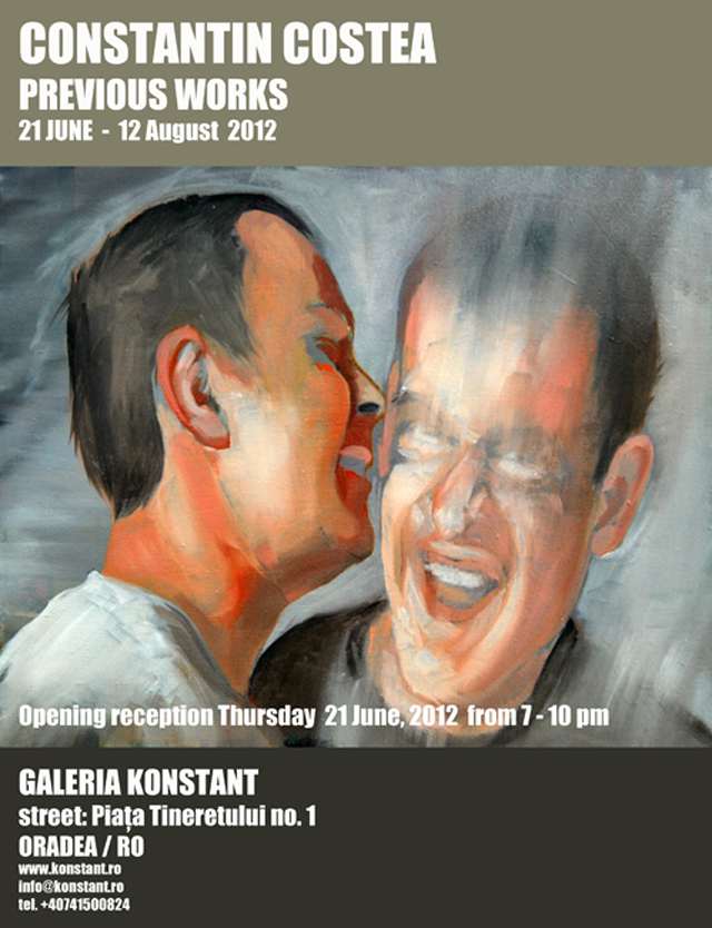 "Constantin Costea ""Previous Work"" @ Galeria Konstant, Oradea"