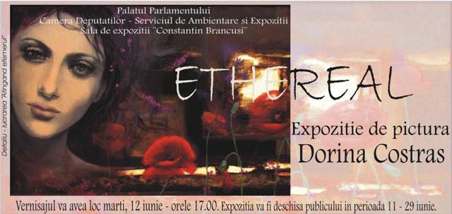 """Dorina Costraș """"Ethereal"""" @ Sala Constantin Brancuși – Palatul Parlamentului, București"""