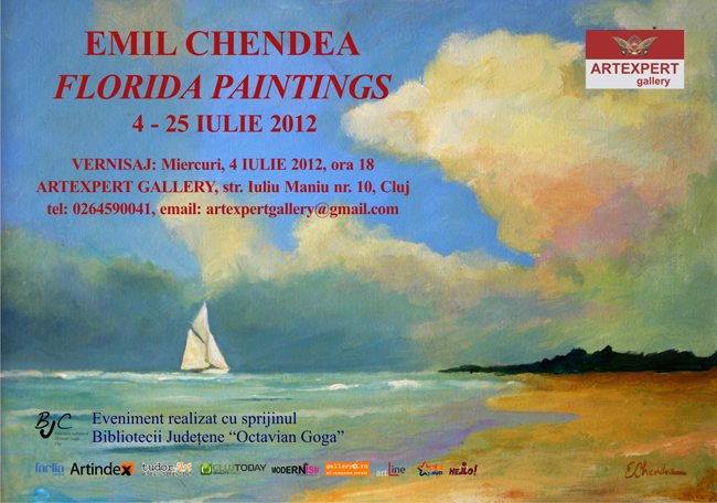 "Emil Chendea ""Florida Paintings"" @ ARTEXPERT GALLERY, Cluj-Napoca"