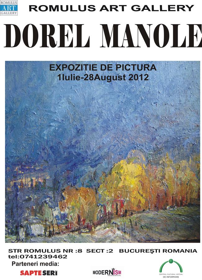 Dorel Manole @ Romulus Art Gallery, București