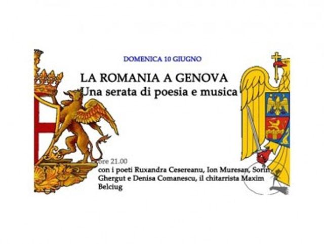 România şi Armenia, ţările invitate de onoare la Festivalul Internaţional de Poezie de la Genova