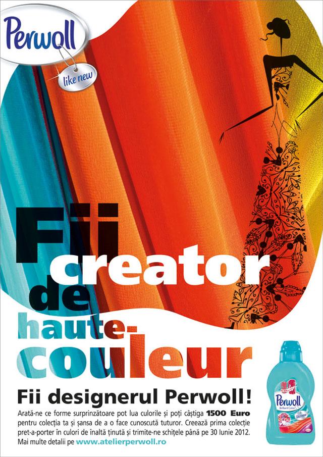 """Începe """"Fii creator de Haute-Couleur!"""" – concursul naţional de schiţe de design vestimentar dedicat tinerilor"""