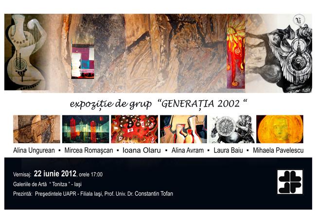 Generația 2012 @ Galeria Tonitza, Iași