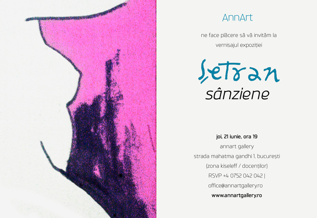 "Vladimir Șetran, ""Sânziene"" @ AnnArt Gallery, București"