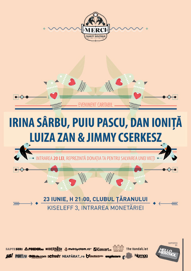 Jazz and Charity! eveniment caritabil cu Luiza Zan și Irina Sârbu
