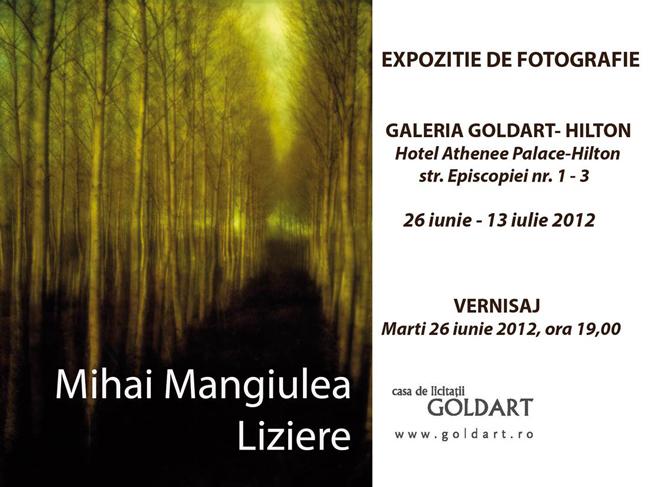 """Mihai Mangiulea """"Liziere"""" @ Galeria Goldart-Hiton, București"""