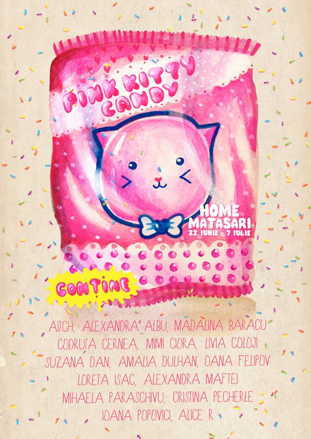 """""""Pink Kitty Candy"""" în cadrul festivalului Femei pe Mătăsari, București"""