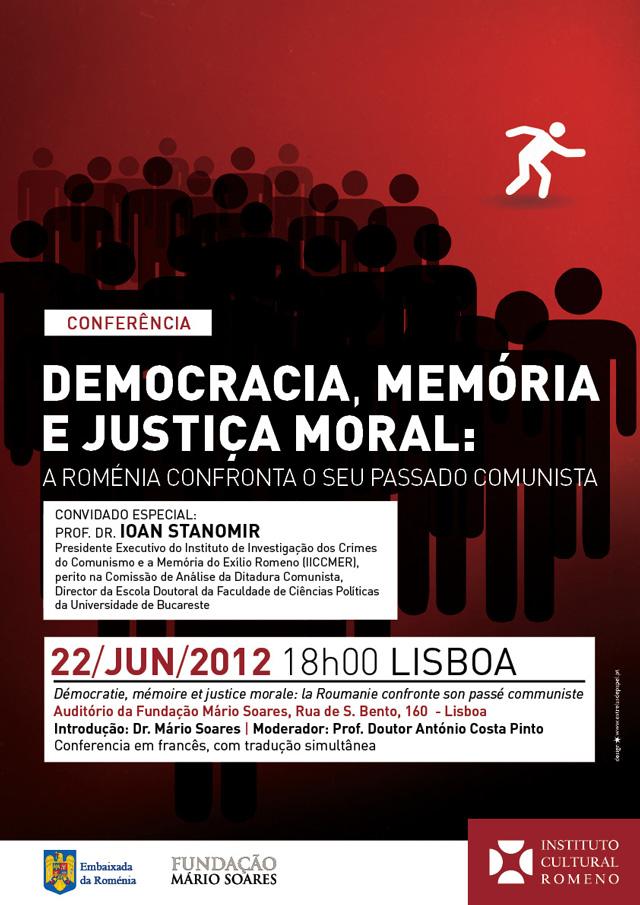 Ceauşescu şi Salazar: întrebări ale prezentului, lecţii pentru viitor @ Institutul Cultural Român de la Lisabona