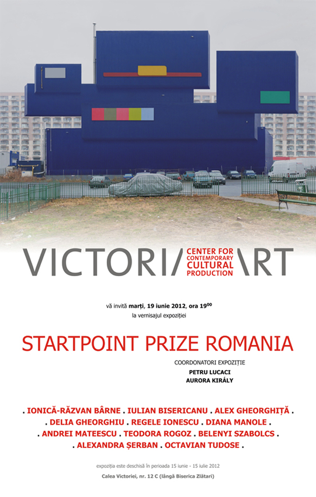 StartPoint Prize @ Victoria Art Center, București