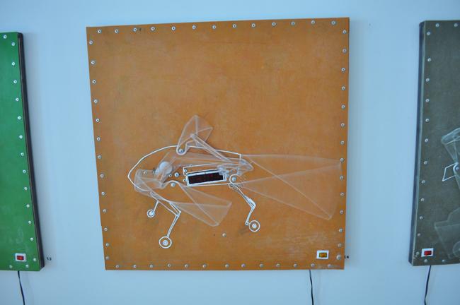 """Ștefan Radu Crețu """"PARATARRASIUS HIBRIDUS"""" @ Galeria 418 Contemporary Art Gallery, vezi galerie de imagini"""