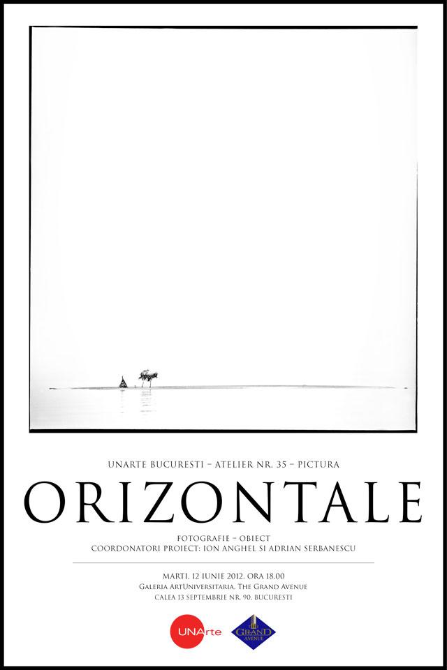 """""""Orizontale"""" @ Galeria ArtUniversitaria, București"""