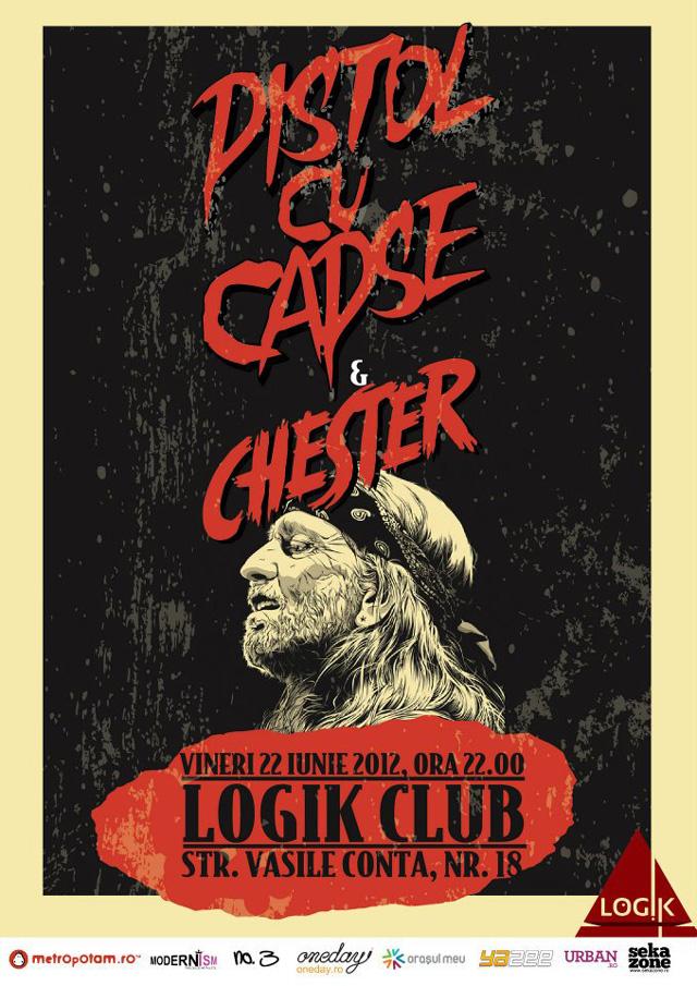 rock marca Pistol cu Capse @ Logik Club București