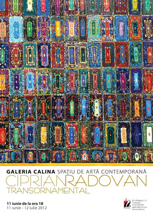 Ciprian Radovan, TRANSORNAMENTAL @ Galeria Calina, Timișoara