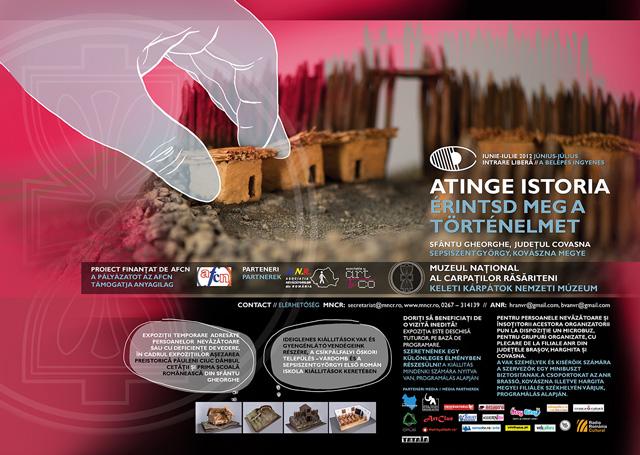 Atinge Istoria, expoziție pentru publicul nevăzător @ Muzeul Naţional al Carpaţilor Răsăriteni din Sfântu Gheorghe
