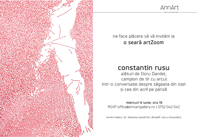 artZoom: Constantin Rusu @ AnnArt Gallery Bucuresti