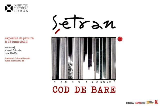 """Vladimir Șetran """"Cod de bare"""" @ ICR București"""