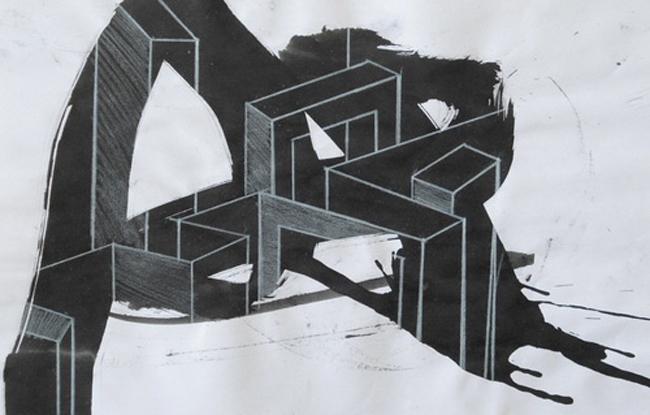 "Bianca Andreea Balog ""Labirint"" @ Asociaţia Visual Kontakt, Oradea"