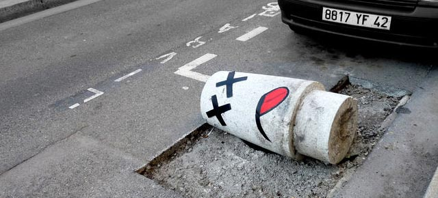 Creative Street Art Ideas from OakoAk