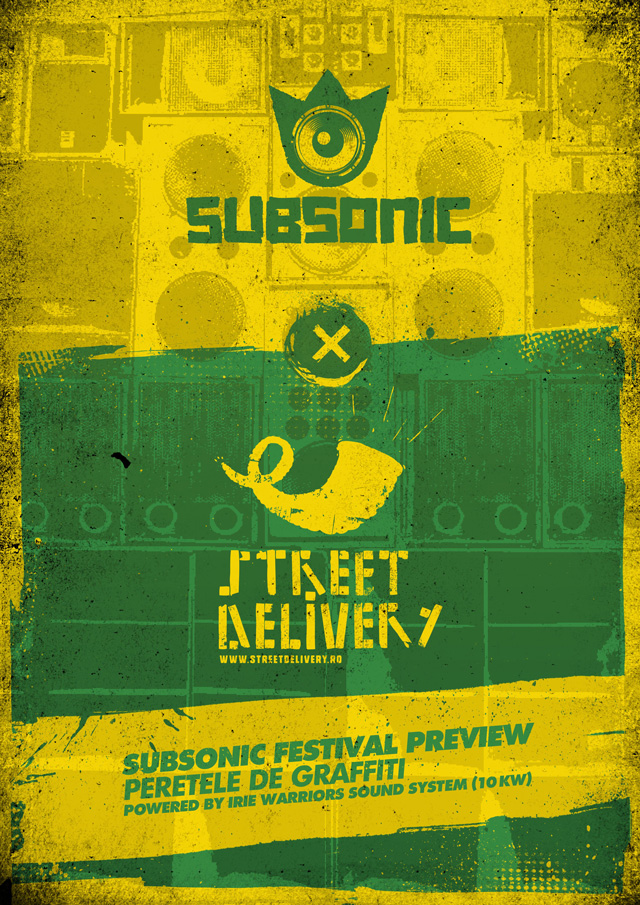 Scena SUBSONIC@STREET DELIVERY 2012