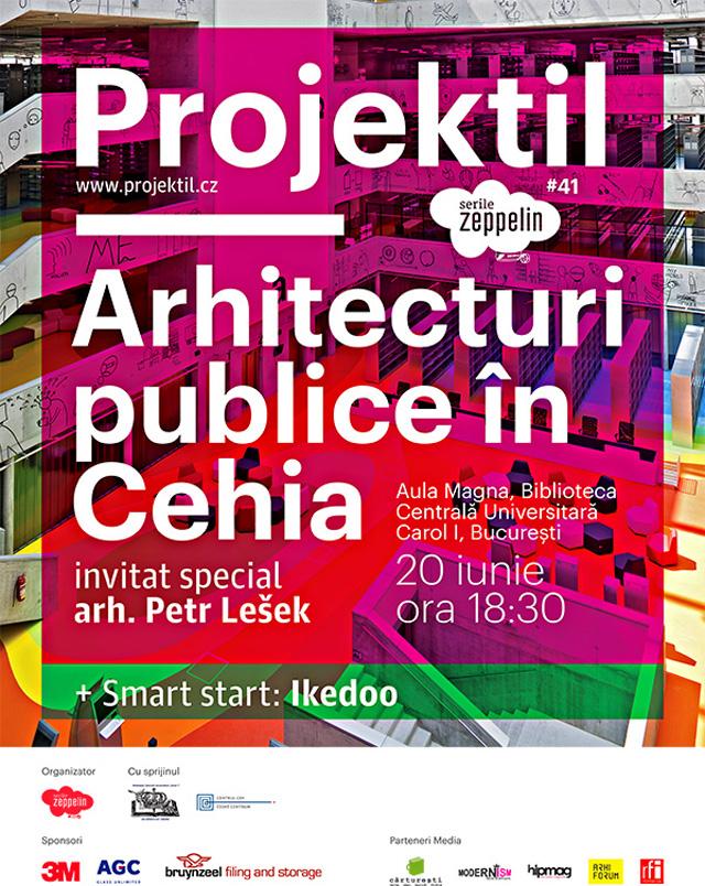 Serile Zeppelin #41: Projektil. Arhitecturi publice în Cehia