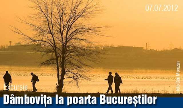 Dâmbovița la poarta Bucureștilor – excursie foto Asociația Bucureștiul meu drag