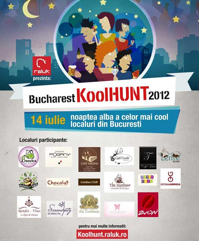Noaptea Albă a Celor Mai Cool Localuri – Bucharest KoolHunt 2012