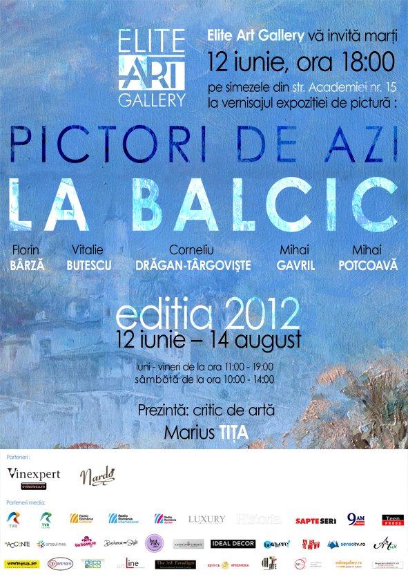 Pictori de azi la Balcic – ediția 2012