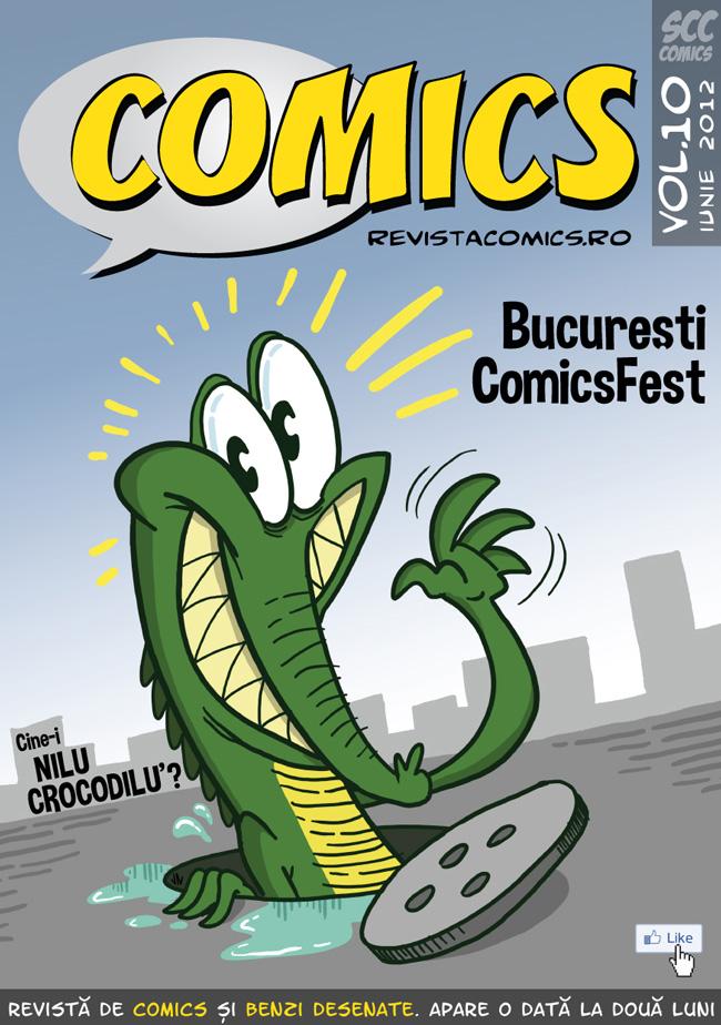 Revista COMICS nr.10 (iunie-iulie 2012)