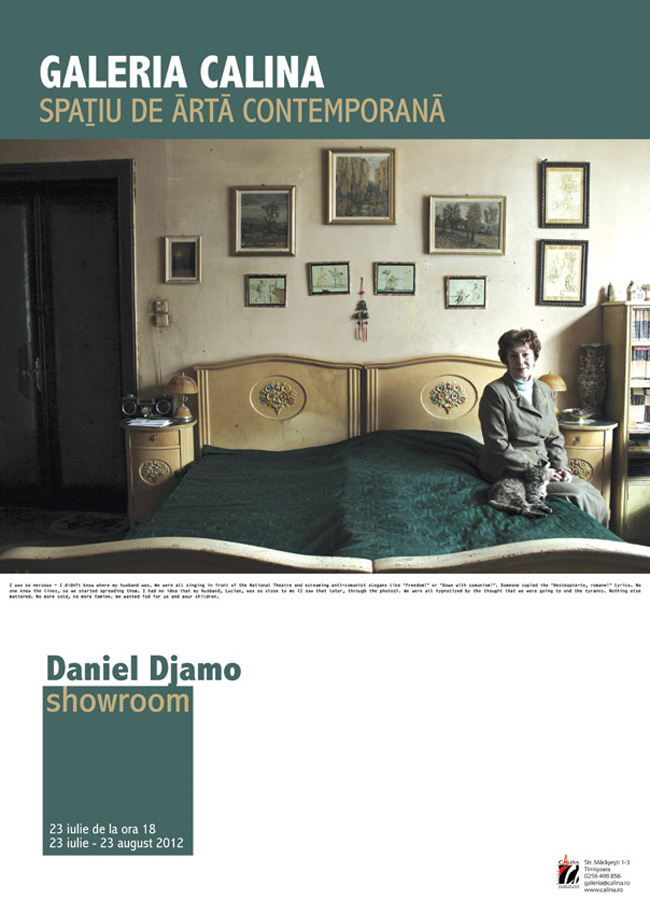 Daniel Djamo, SHOWROOM @ Galeria Calina, Timișoara