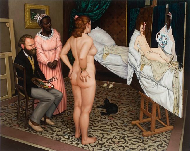"Édouard Manet, making of ""Olympia"""