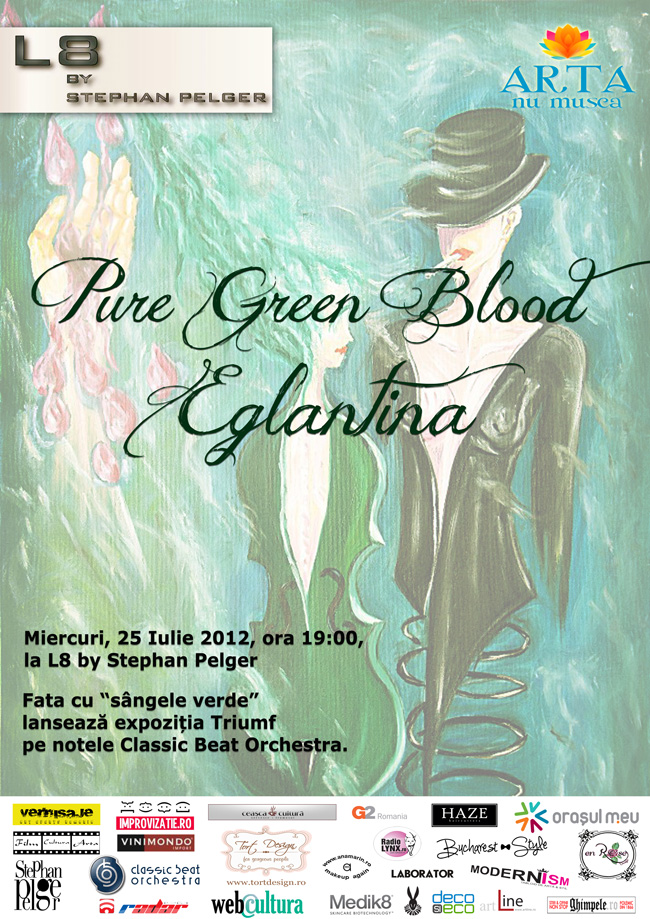 "Eglantina ""Pure Green Blood"" @ L8 by Stephan Pelger"