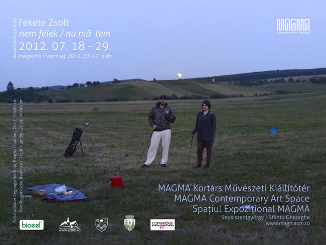 """Zsolt FEKETE """"NU MĂ TEM"""" @ Spațiul Expozițional de Artă Contemporană MAGMA, Sf. Gheorghe"""