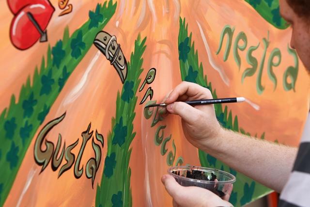 Competiția de artă Gusta provocarea Nestea a ajuns la final