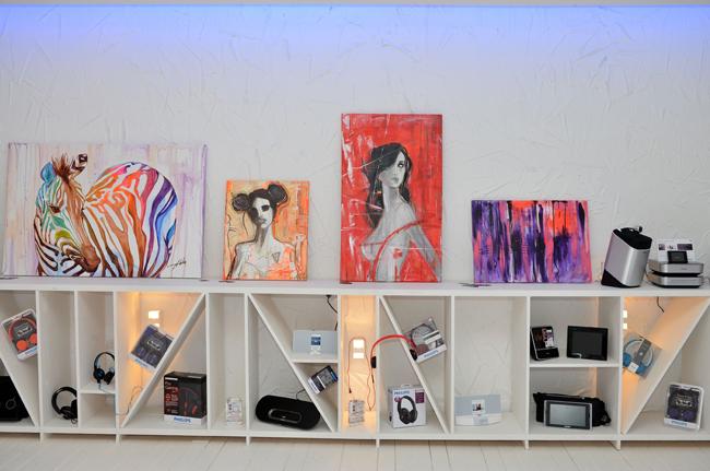 """Expoziţie pictură """"Urban Colours""""- Aleha Năstase @ Innovation Arts & Design Center"""