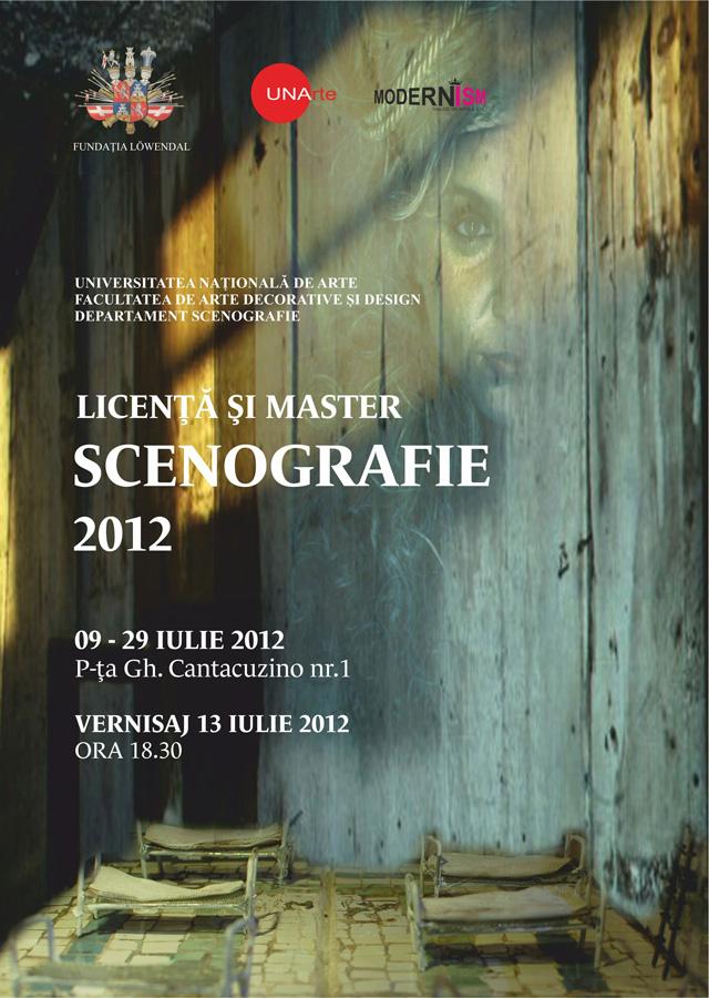 Expoziţie: Licenţă şi master – Scenografie 2012 @ Fundaţia Löwendal