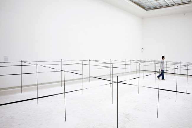 "Mona Vatamanu & Florin Tudor in ""Variable dimensions"" @ Institut d'art contemporain, Villeurbanne/Rhône-Alpes"