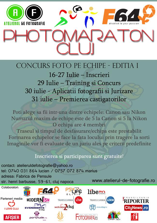 Photo Maraton Cluj – eveniment de artă și cultură fotografică