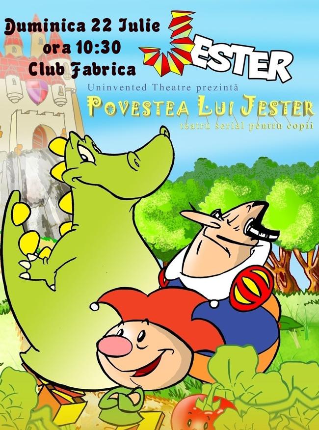 """Stagiunea de vară club Fabrica – """"Povestea lui Jester"""" – Uninvented Theatre"""